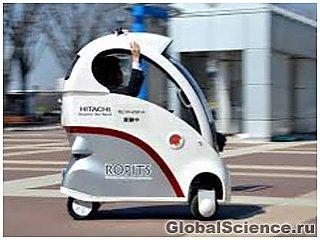 Hitachi представила  крошечный автомобиль-робот