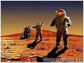 Повышенный уровень космической радиации исключает возможность полета на Марс