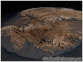 NASA показало поверхность Антарктиды без льда