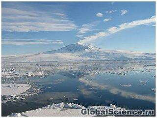 Подледный действующий вулкан обнаружен на западе Антарктиды