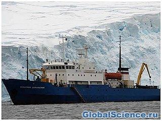Китайский ледокол смог пробиться к засевшему во льдах «Академику Шокальскому».