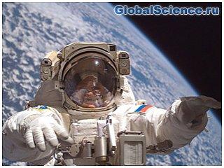Российскими космонавтами побит рекорд нахождения в космосе.