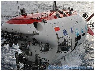 Китайцами будет совершено погружение в Индийский океан в батискафе