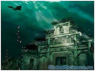 Затопленный город в Китае станет парком для развлечений