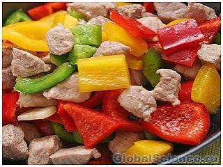 Создано мясо из овощей