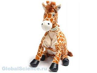Игрушечный жираф станет талисманом очередной космической экспедиции