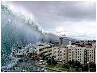 По мнению ученых, рухнувший в воды астероид может привести к формированию цунами