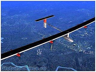 Авиалайнер на солнечных батареях готов к первому полету