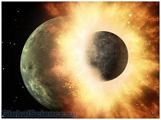 Ученые установили рождение луны