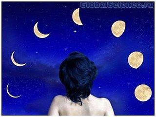 Полнолуние не воздействует на сон человека