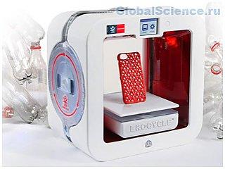 3D принтер по переработке пластиковых бутылок создала Coca-Cola