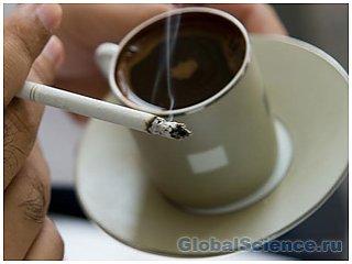 Курильщики не чувствуют горечи кофе
