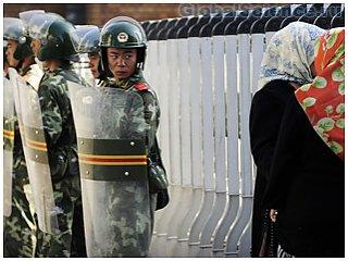 Китайцы  придумали прибор для определения в толпе террориста