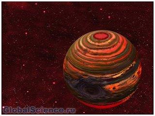 В атмосфере коричневого карлика, возможно, существует водный пар