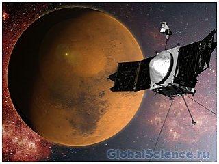 Марс встречает космический корабль Maven