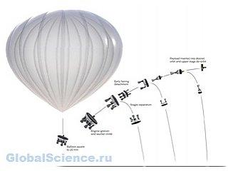 Комнания Zero2Infinity доставлять грузы на орбиту будет с помощью воздушных шаров