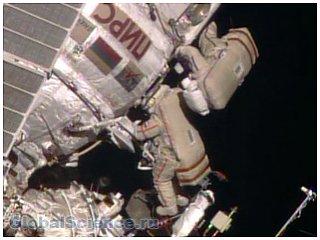 Третий за месяц выход в открытый космос завершен