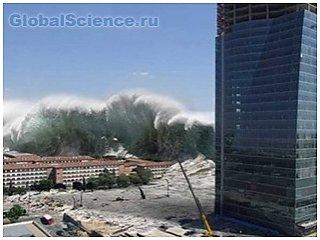Самое крупное цунами в истории. Шокирующие фото