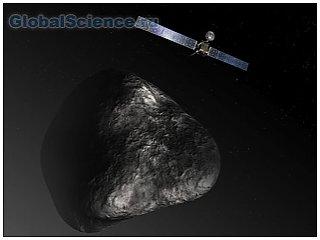 Бурение кометы провел аппарат Филы
