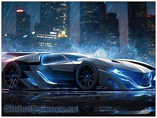 Реальные спорткары, перенесенные в будущее (10 фото)