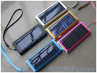 Зарядные устройства на солнечных батареях – недалекая реальность