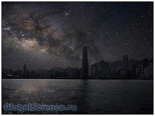Города в свете звезд  фото