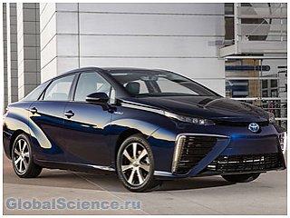 Toyota представила автомобиль на водородных топливных элементах: Mirai