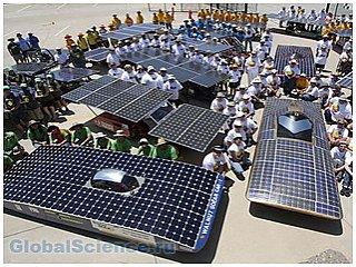 В скором времени солнечные батареи будут производить из металла