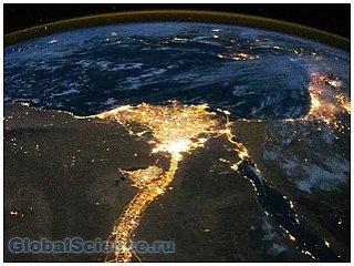 В сети появились уникальные снимки земли из космоса