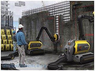 Учеными разработаны роботы ERO способные съедать бетон