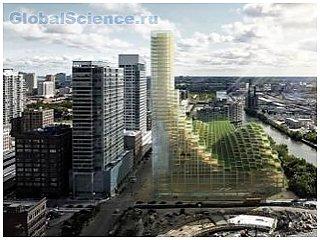 В Стокгольме собираются построить деревянный небоскреб