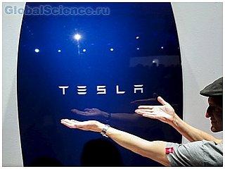 TESLA представили инновационную домашнюю батарею для экономии энергии