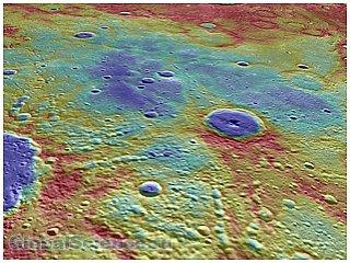 Messenger обнаружил древнее магнитное поле у Меркурия