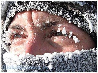 Мороз может убить человека быстрее жары