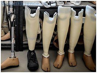Ученые создали и протестировали новый протез ноги