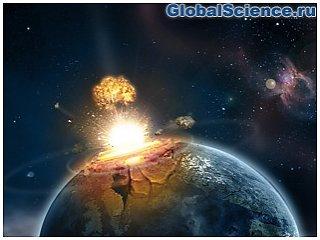 Российские ученые смоделировали гибель земли от астероида