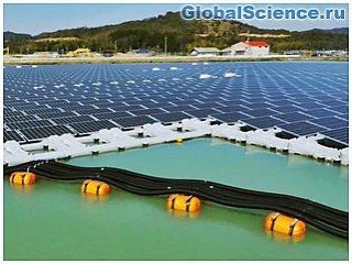 В Японии построят плавучие солнечные электростанции