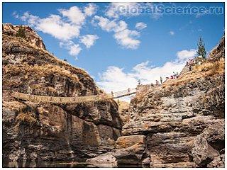 Кешва Чака – веревочный мост инков
