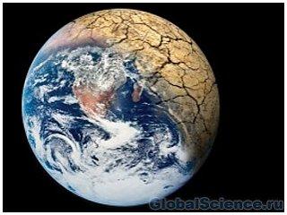 Ученые создали модель земли без океанов