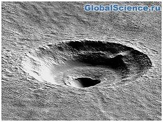 На Марсе обнаружен таинственный кратер