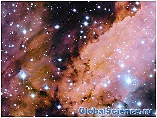 Снимок гигантской туманности Gum 56 или туманность Креветка
