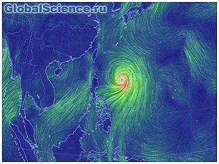 NASA наблюдает за тропическим штормом «Атау», надвигающимся на Японию