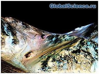 В NASA рассказали какая вода течет на Марсе