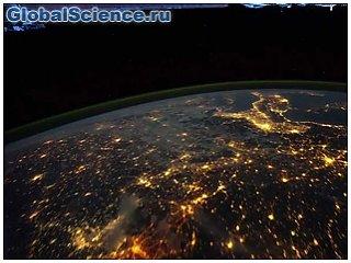 NASA Опубликовало видео из космоса, как проходит ночь на Земле