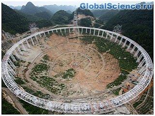 FAST станет самым большим телескопом в мире