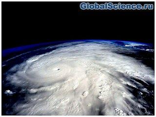 NASA показало ураган «Патрисия» из космоса