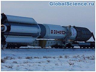 Байконур готовится к пуску ракеты Протон со спутником Eutelsat 9B