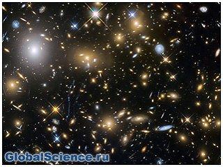 Космический телескоп Хаббл показал небо в алмазах видео