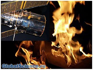 NASA собирается устроить пожар в космосе