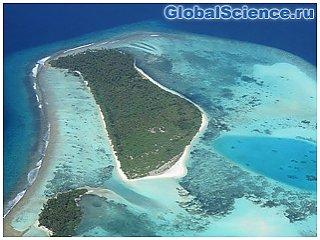 Пять островов в Тихом океане ушли под воду